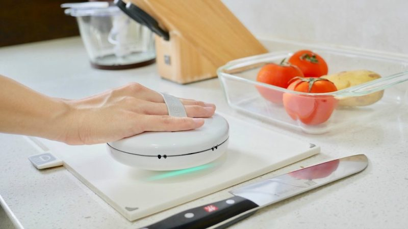 Cleansebot: The germ killing robot for your bed and kitchen