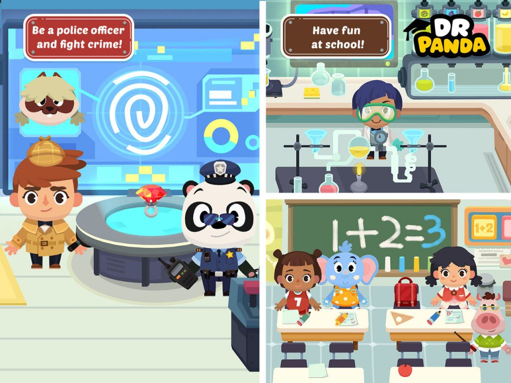 Fantastic iPad apps for 6 year olds: Dr. Panda Town