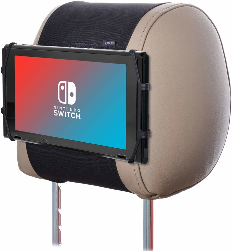 Best Nintendo Switch accessories: Headrest mount