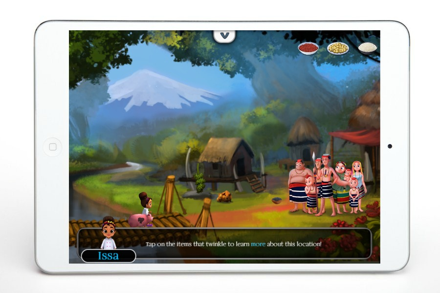 Fantastic iPad apps for 6 year olds: Issa's Edible Adventures