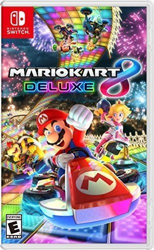 Nintendo Switch games for kids: Mario Kart 8 Deluxe