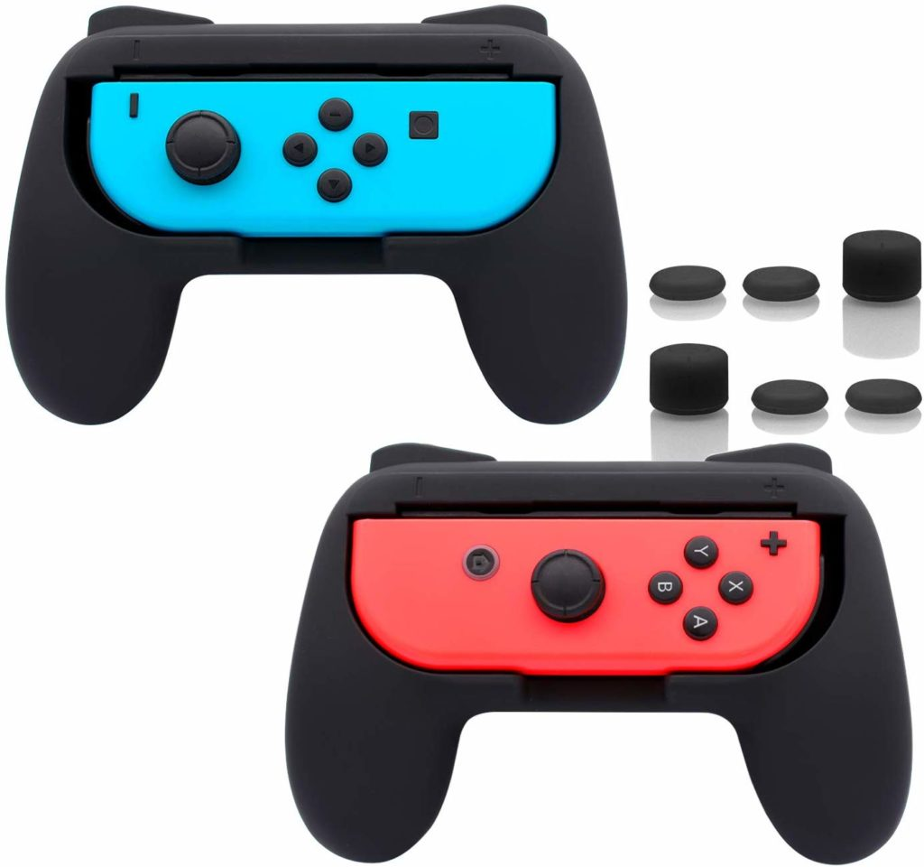 Joy-Con Grip Handle kit: Best Nintendo Switch accessories
