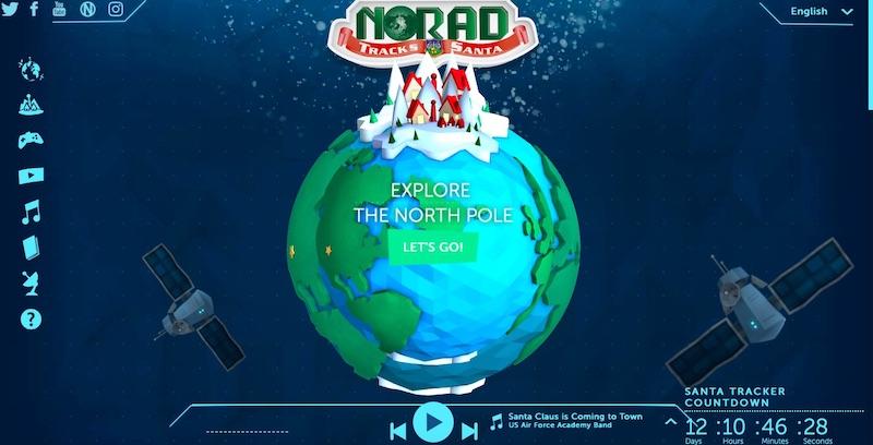 Ways to track Santa: NORAD Tracks Santa