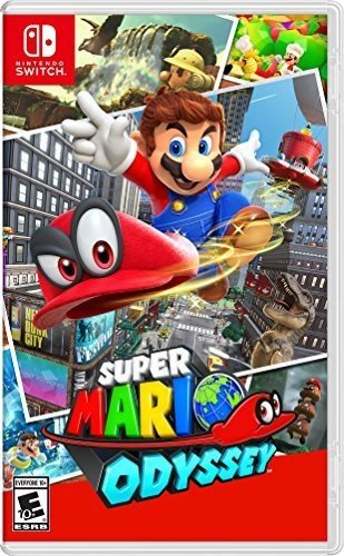 Nintendo Switch games for kids: Super Mario Odyssey