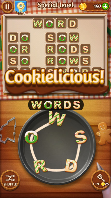 Fantastic iPad apps for 6 year olds: Word Cookies