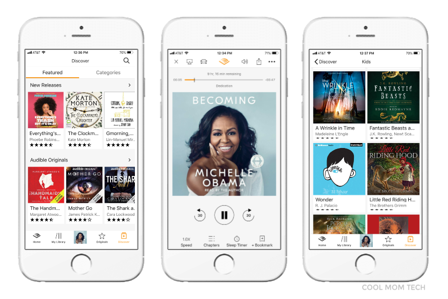 The life-changing apps we love now: Audible