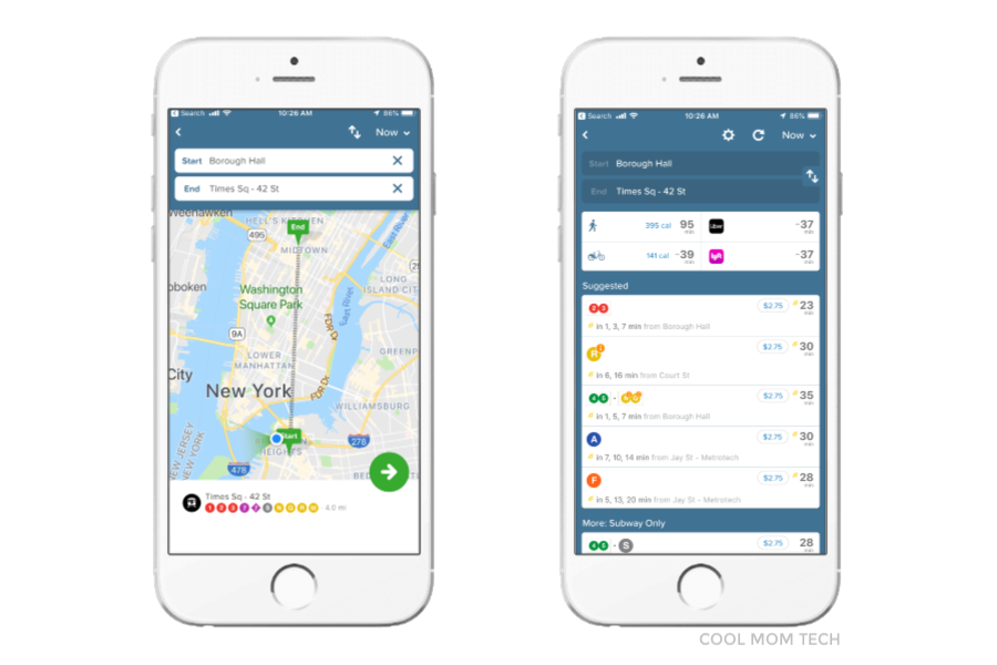 Apps we can't live without: Citymapper app in 39 cities