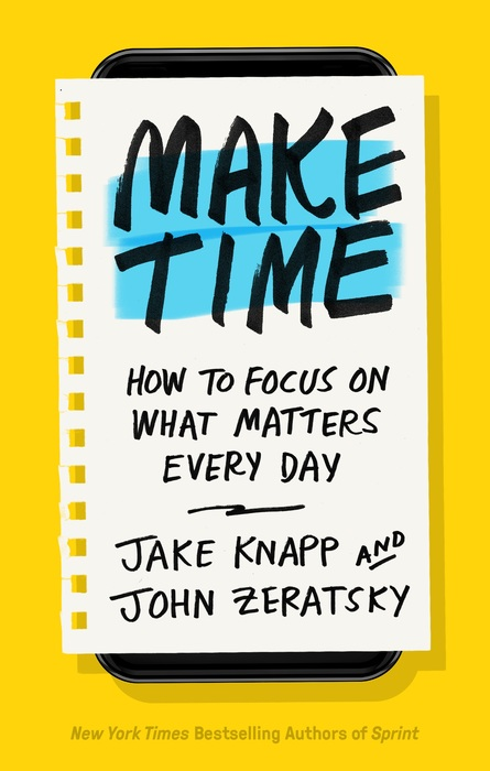 5 strategies for making your phone less distracting from Make Time with Jake Knapp