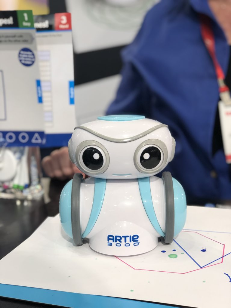 Artie 3000, a new coding robot for kids | Cool Mom Tech