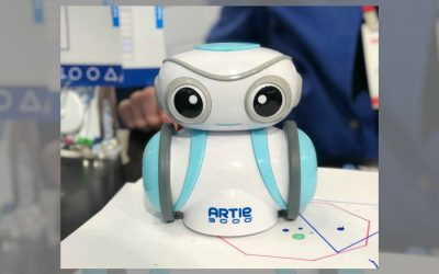 Coding just got cooler (and cuter) with the Artie 3000 robot.