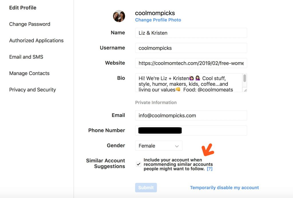 Can you stop inappropriate follow requests on Instagram?