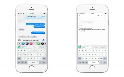 The Grammarly keyboard app is a fast typer's BFF