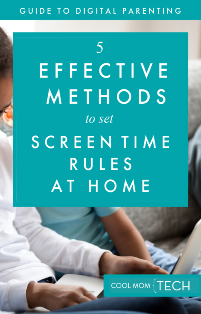 Guide to Digital Parenting: 5 effective methods for setting family screen time rules at home | Cool Mom Tech