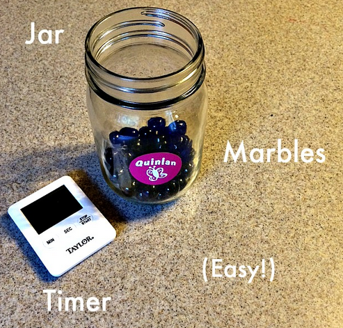 Ultimate Digital Parenting Guide: The Marble Jar is a reward-based way to track your kid's screen time