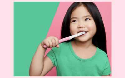 quip for kids: A grown-up toothbrush that's made for tiny mouths.