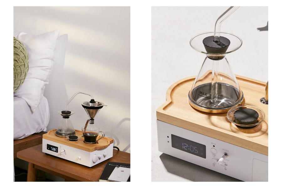 The future is here and it's an alarm clock that brews coffee