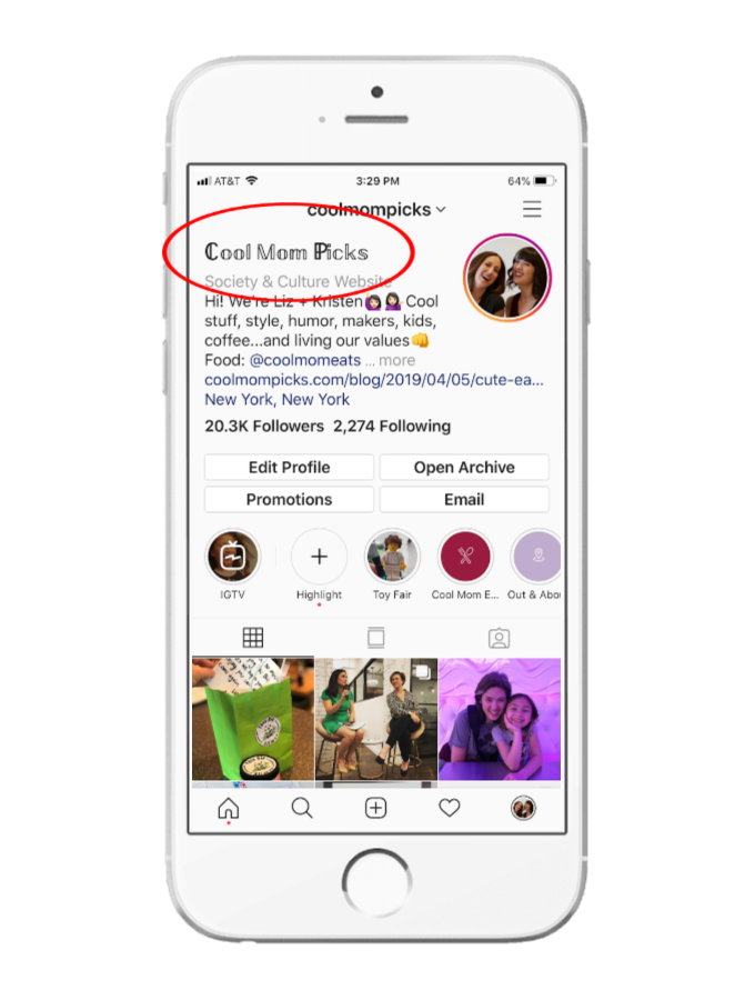 How do you change the font on your Instagram bio? | Cool Mom