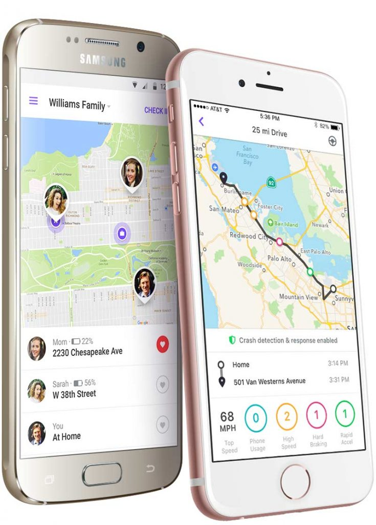 Ride sharing safety tips for parents: Use a separate tracking app, like Life 360