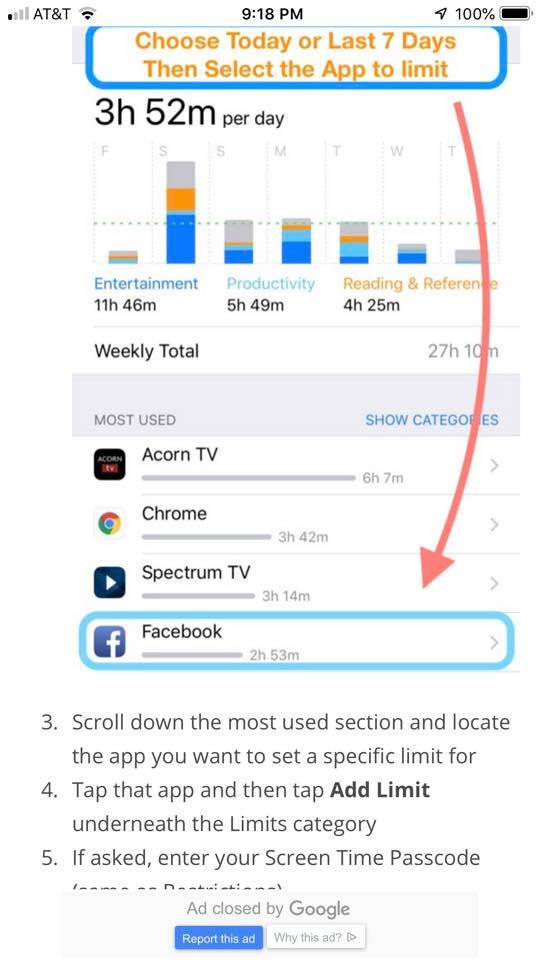How to block certain apps on the iPhone with the Screen Time app