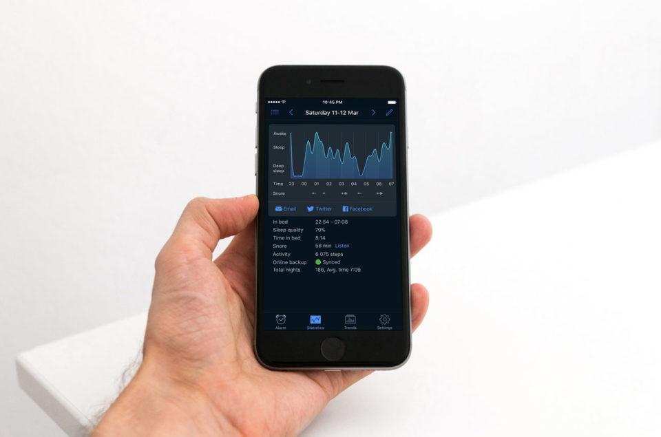 Best sleep tracking apps: Sleep Cycle