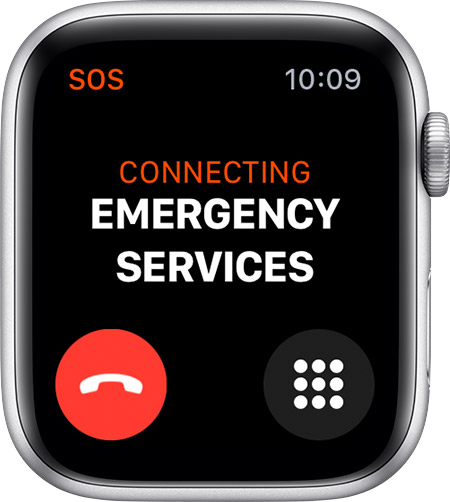 Emergency SOS and other safety features of the Apple Watch 4