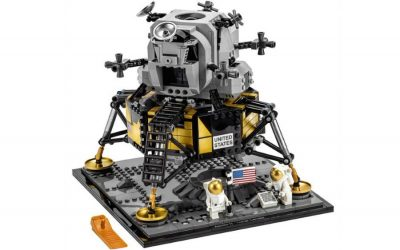 LEGO's new NASA Apollo 11 Lunar Lander building set is out of this world.