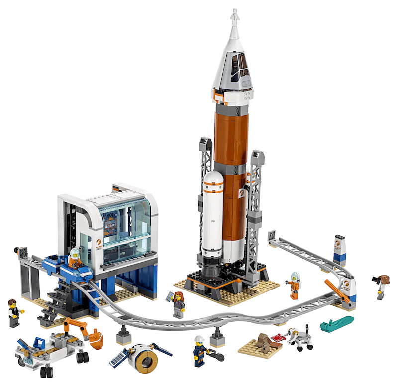 LEGO lunar landing space sets: the LEGO CITY Space sets focus on future Mars missions