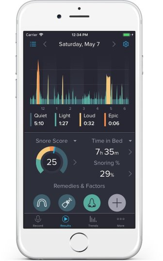 Best sleep tracking apps: SnoreLab