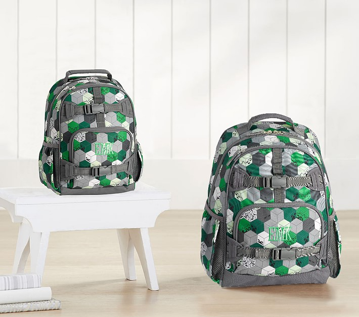 Minecraft backpacks at Pottery Barn Kids | Cool Mom Picks