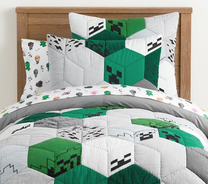 The new Minecraft x Pottery Barn Kids collection | Cool Mom Picks