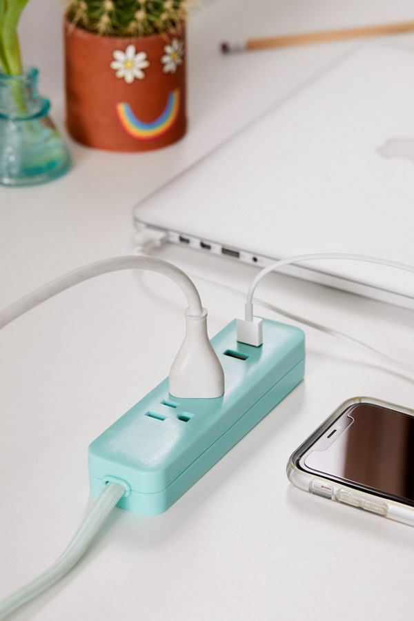 Pastel power strip at Urban Outfitters