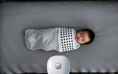 This high-tech baby monitor and swaddle is helping parents and newborns breathe easier