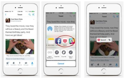 The Pocket app helps you save and read your favorite articles to you