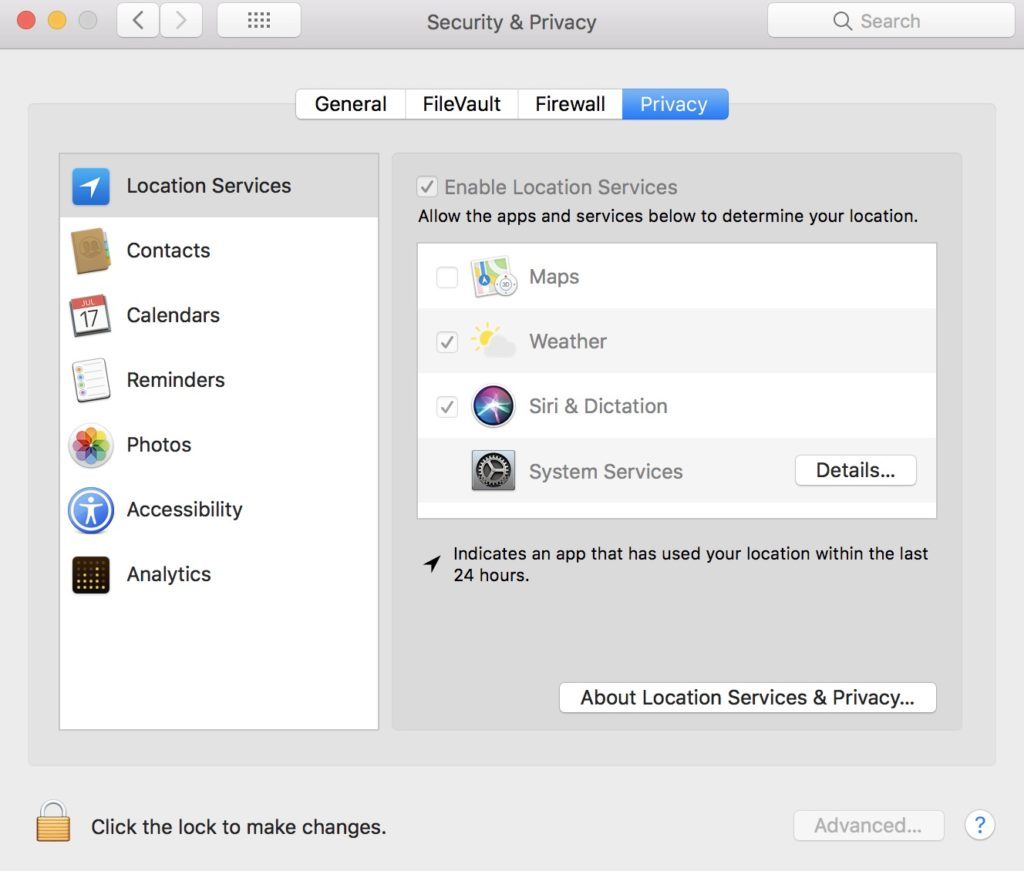 Privacy settings on your macOS you should know about