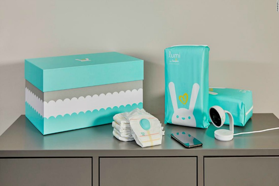 Smart diapers are here to help tell you if your baby's diaper is wet. File this under: AYFKM?