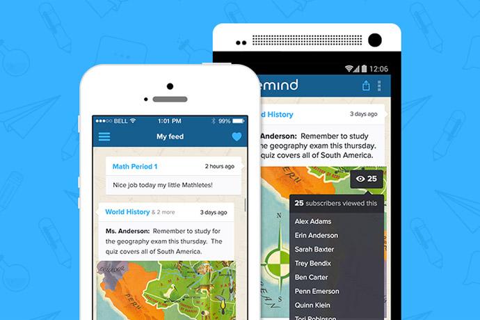 Remind: a free teacher parent communication app