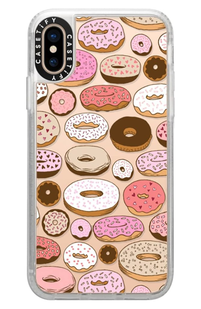 iPhone cases for food lovers from Sonix: Yay donuts!