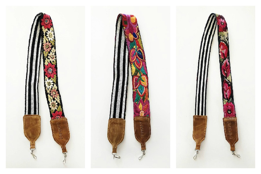 Beautiful vintage camera straps for snapping in style