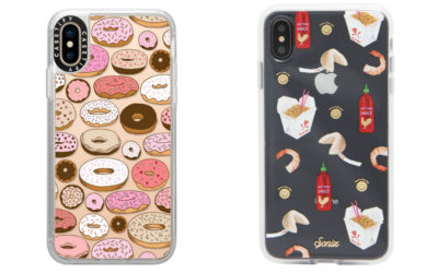 iPhone cases for food lovers. Donuts, anyone?