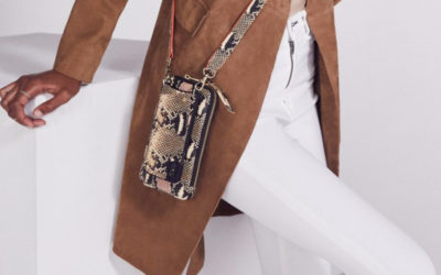 The stylish new Bandolier crossbody phone cases. Until women get some clothes with some damn pockets.