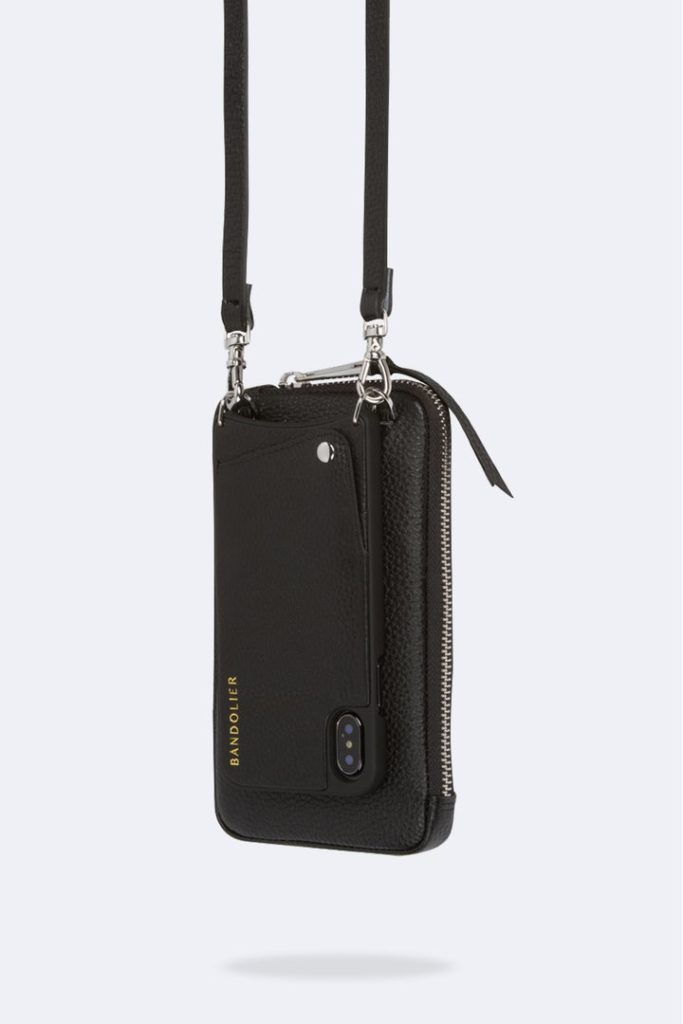 Bandolier crossbody iPhone case lets's you go hand free with style