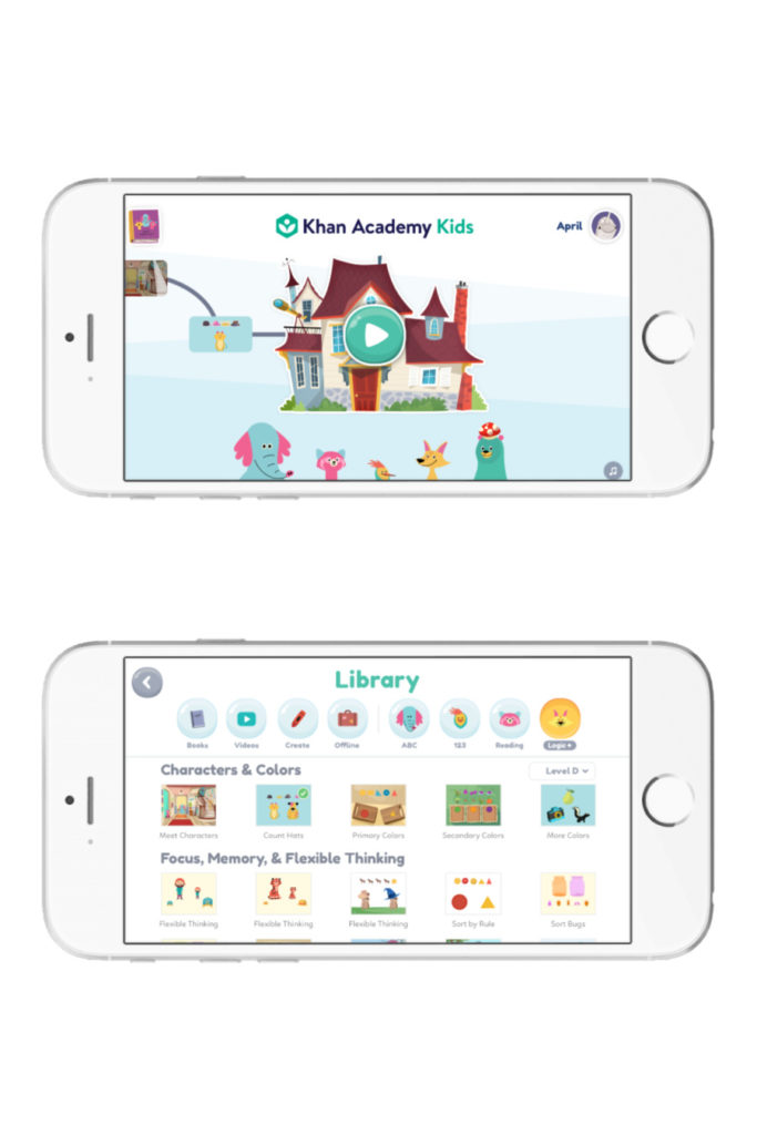 Best app to get young kids excited about general learning: Khan Academy Kids