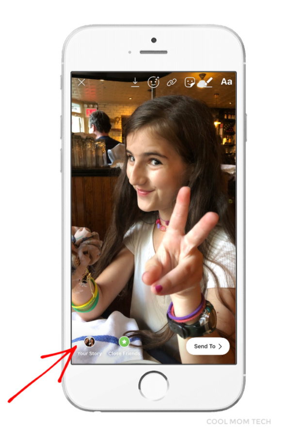 Instagram Stories Trick: Turning Live Photos into Boomerangs: Step 4