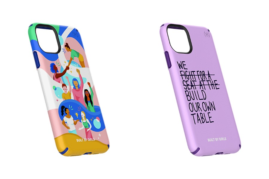 Cases with a cause: Student-designed smartphone cases celebrate women empowerment, sisterhood, and the LGBTQ+ community