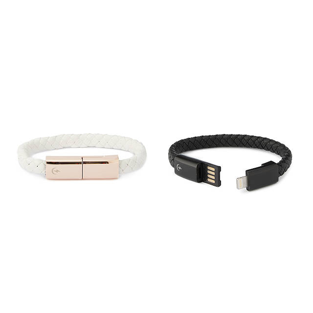 Holiday Tech Gift Guide: Cool tech gifts for teens - charging cord bracelet