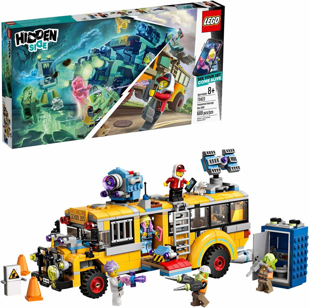 Tech toys and gifts for big kids and tweens: Paranormal LEGO AR game sets
