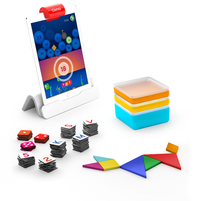 OSMO Genius starter kit: The Seriously STEM Toy Award Winner in the math category