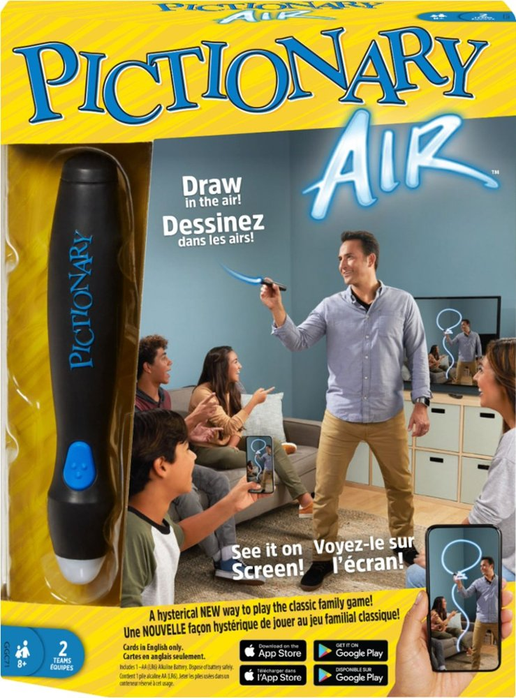 Tech toys and gifts for tweens and big kids: Pictionary Air