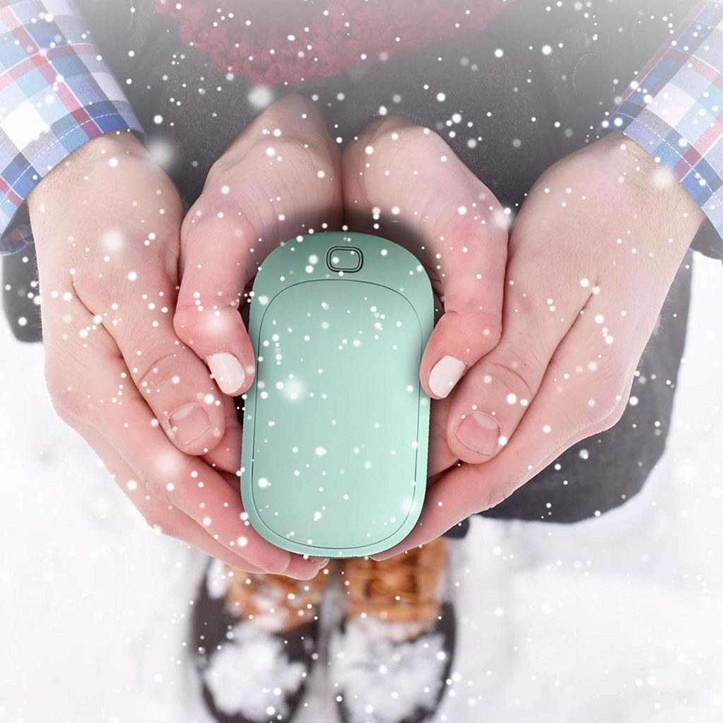 Tech Holiday Gift Guide: Cool teen gifts - rechargeable hand warmer and charger