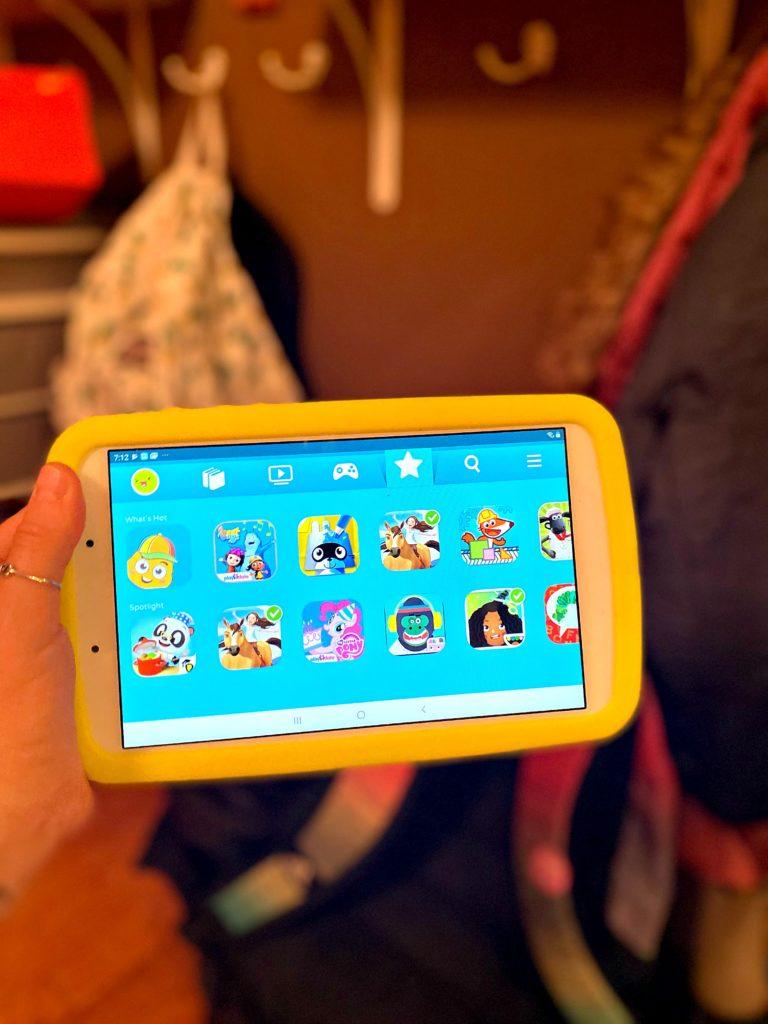 Get a free trial of the Samsung Kids app | sponsor